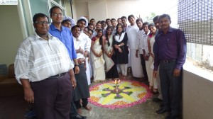 Students of ASK Institute of Hotel Management and Culinary Arts celebrated Onam on 12th of Sep 2015. Wide spread of  kerala dishes  were prepared by the students and Onam Sadya was served. Pookolam and kerala music were part of the celebration